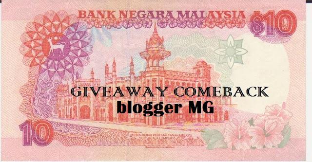 Giveaway MG