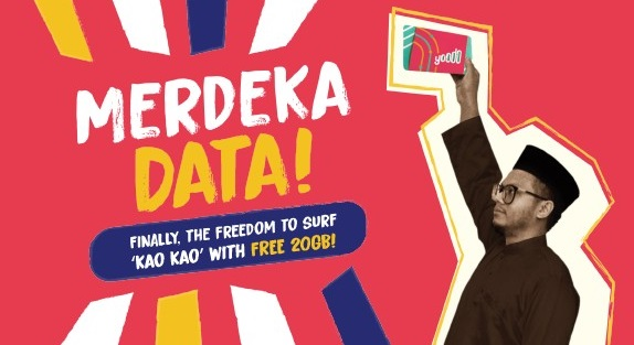 yoodo free 20GB data